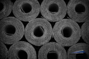 Rolls of PVC Material