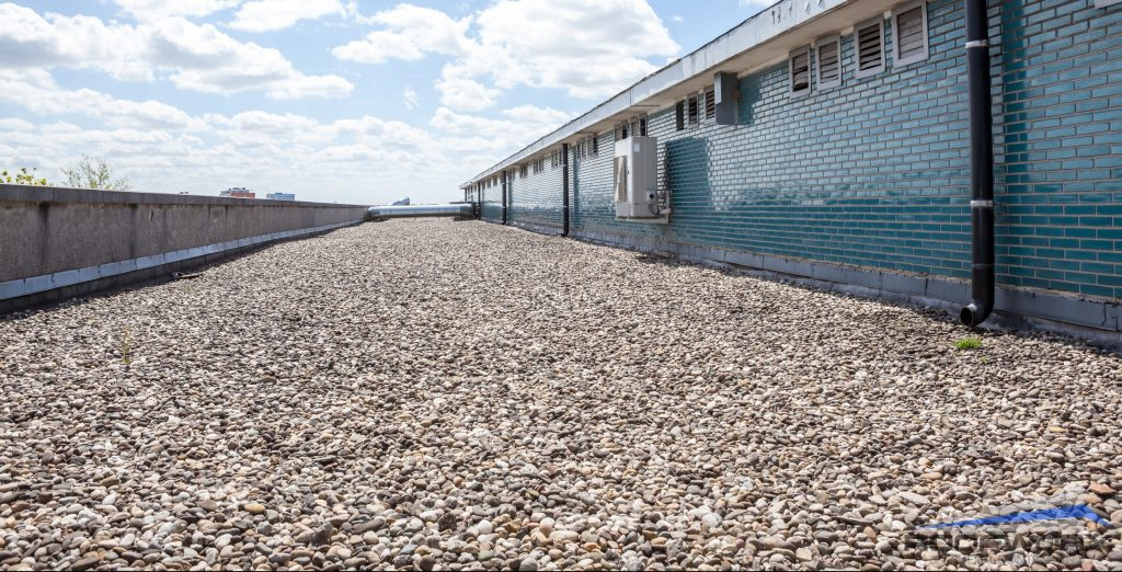 roof vacuuming services for roofing rocks
